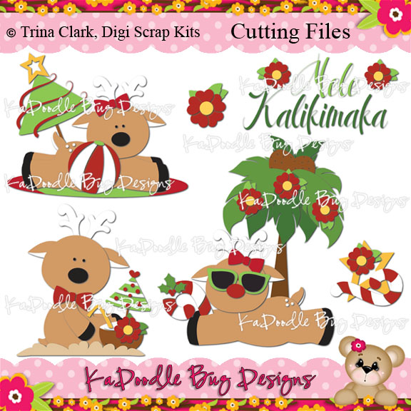 free clip art hawaiian christmas - photo #25