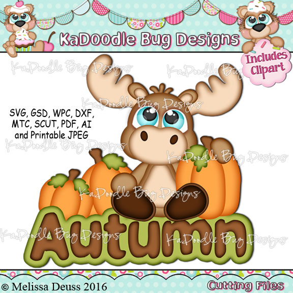 Cutie KaToodles - Autumn Moose
