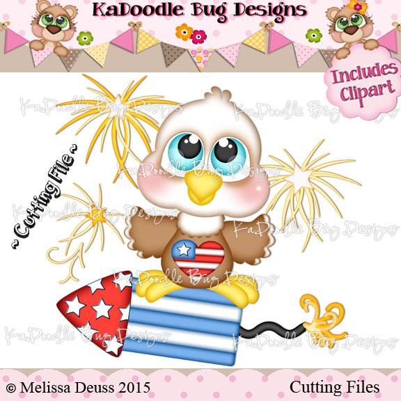 Cutie KaToodles - Bald Eagle
