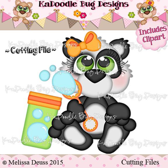 Cutie KaToodles - Bubble Blowing Panda