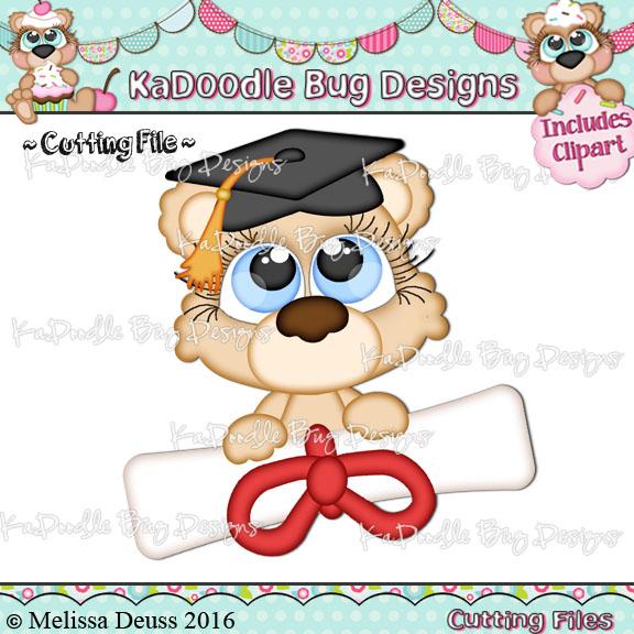 Cutie KaToodles - Diploma Bear