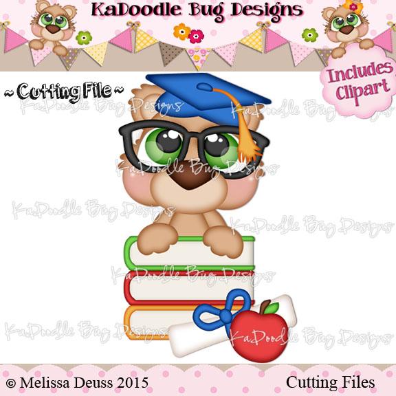 Cutie KaToodles - Graduate Bear