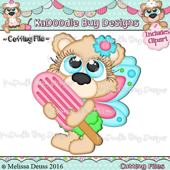Cutie KaToodles - Popsicle Fairy Bear