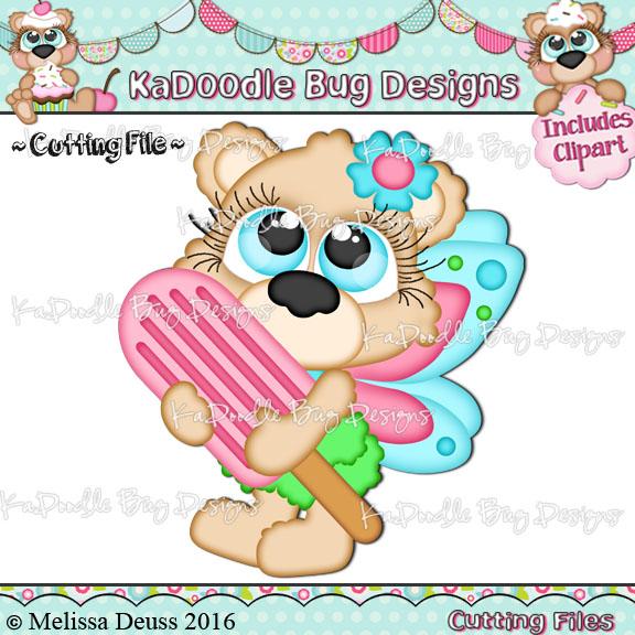 Cutie KaToodles - Popsicle Fairy Bear