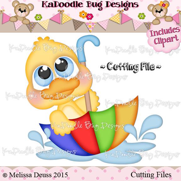 Cutie KaToodles - Rainy Day Duck
