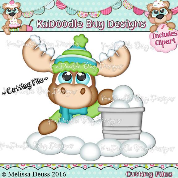 Cutie KaToodles - Snowball Moose