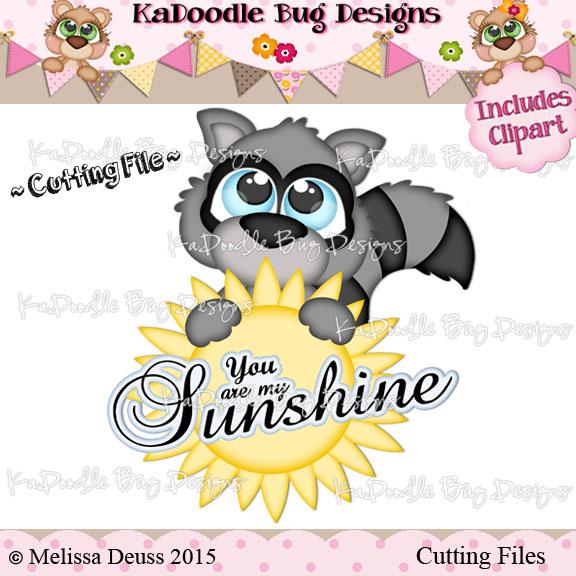 Cutie KaToodles - Sunshine Raccoon