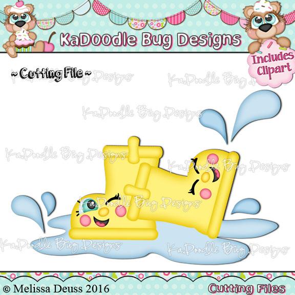 Shoptastic Cuties - Rain Boot Cuties