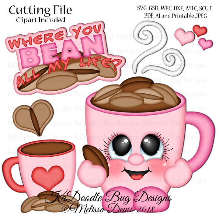 Shoptastic Cuties   Valentine Coffee Cutie