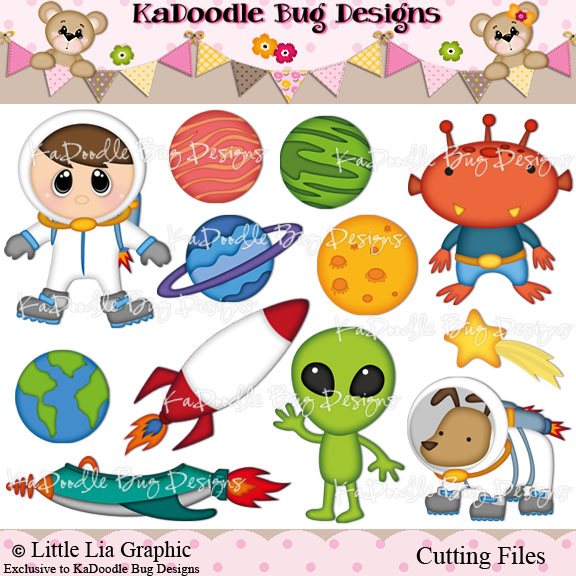 Out of this world kadoodle bug designs cut for Out of this world design