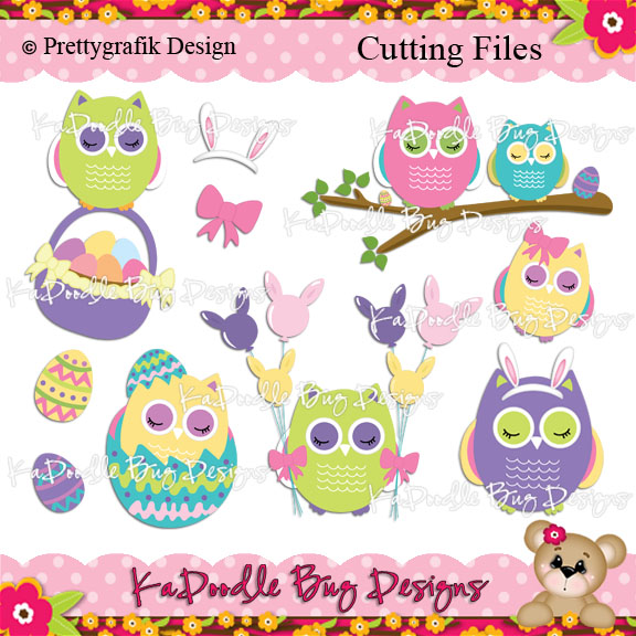 free easter owl clip art - photo #6