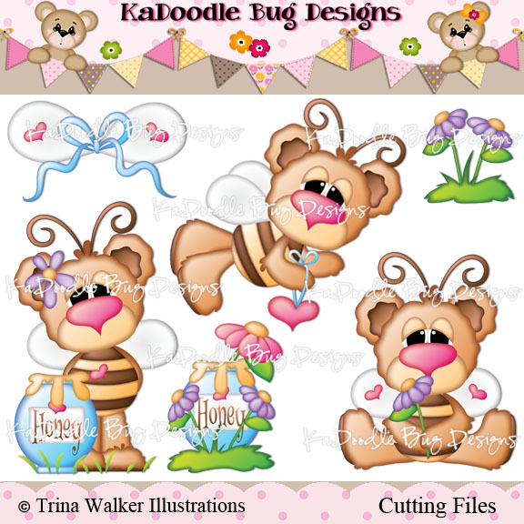 Busy Bee Bears - Click Image to Close
