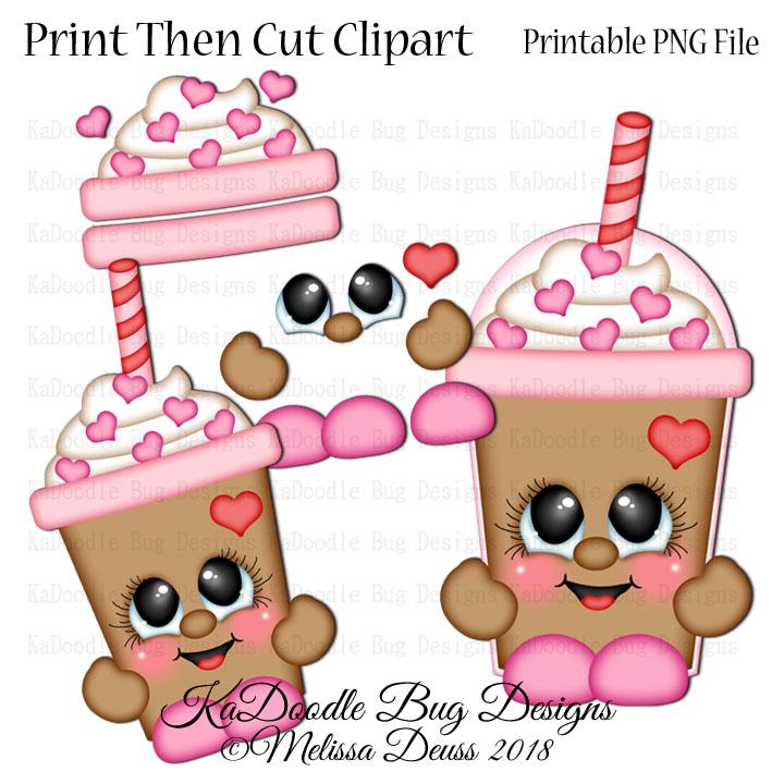 PTC Valentine Frappuccino Cutie - Click Image to Close